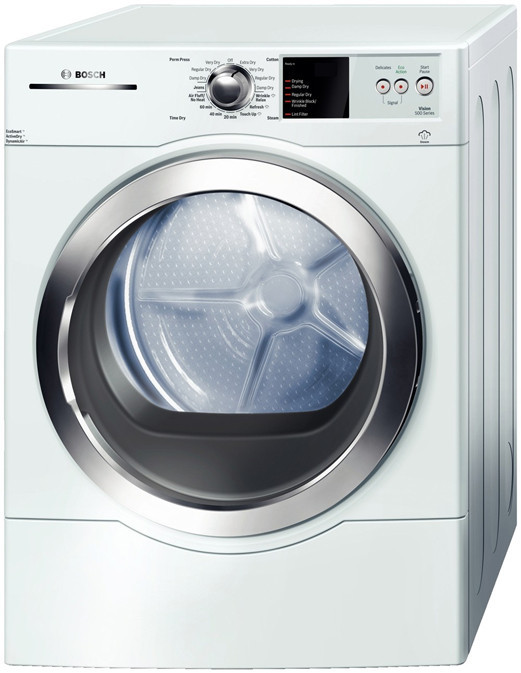 Bosch Wtvc5530uc 27 Inch Front Load Gas Dryer With 6 7 Cu