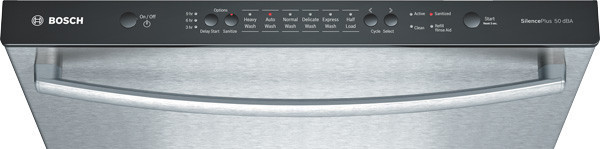 bosch shx3ar75uc fully integrated dishwasher with 14 place
