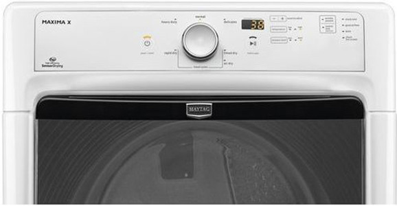 Maytag Med3000bw 27 Inch Electric Dryer With 7 4 Cu Ft