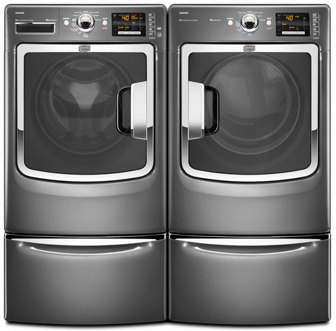 Maytag Mhw6000xg 27 Inch Front Load Washer With 4 3 Cu Ft