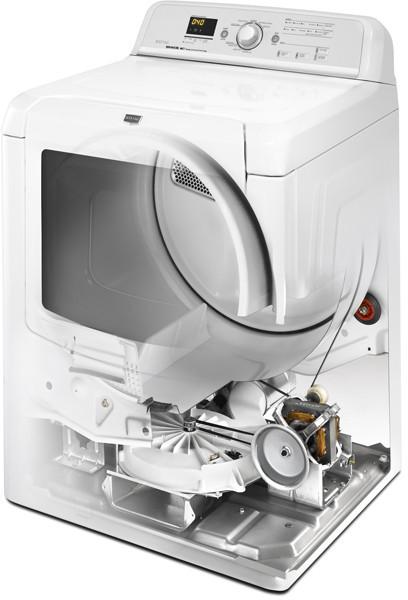 Maytag Medb850wb 29 Inch Electric Dryer With 7 3 Cu Ft