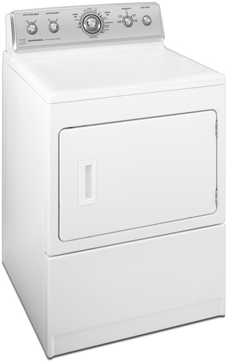 Maytag Medc700vw 27 Inch Electric Dryer With 7 4 Cu Ft