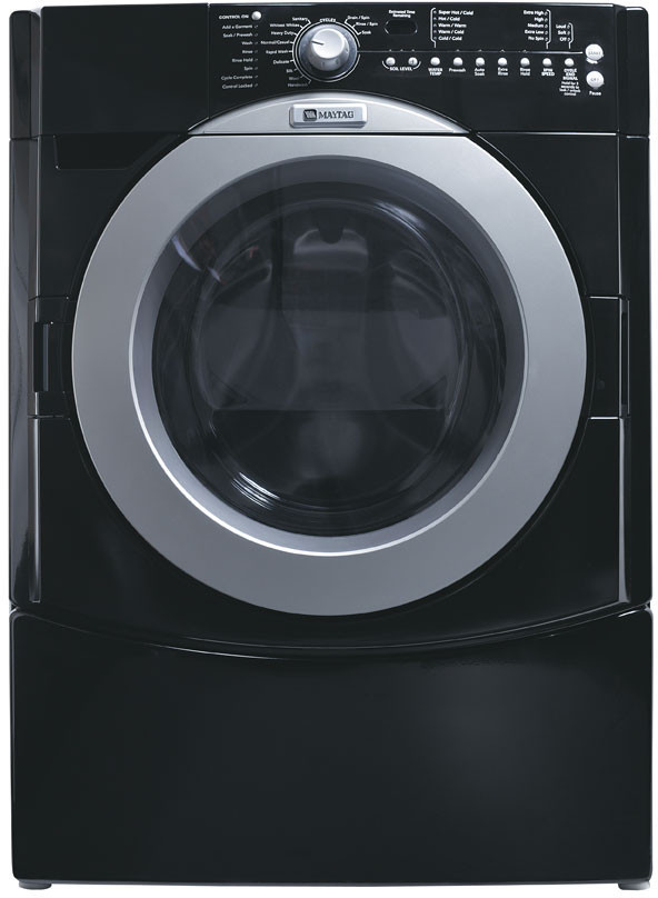 Maytag Mfw9700sb 27 Inch Front Load Washer With 4 0 Cu Ft
