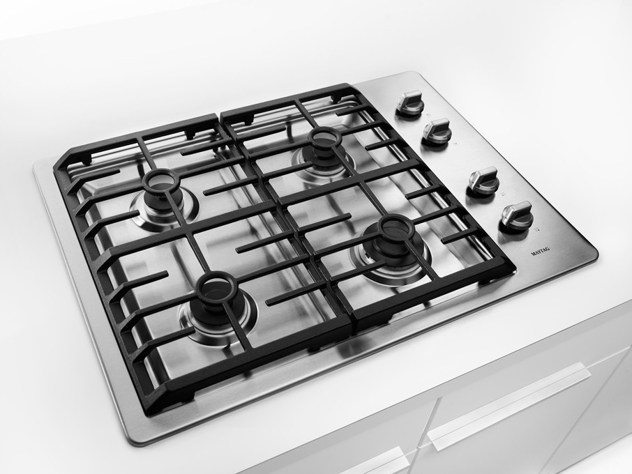 Maytag Mgc7430ws 30 Inch Gas Cooktop With 4 Sealed Burners