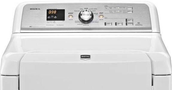 Maytag Mgdb725bw 29 Inch Gas Dryer With 7 3 Cu Ft