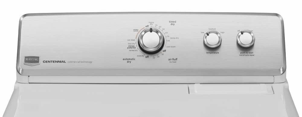 Maytag Medc300bw 29 Inch Electric Dryer With 7 0 Cu Ft