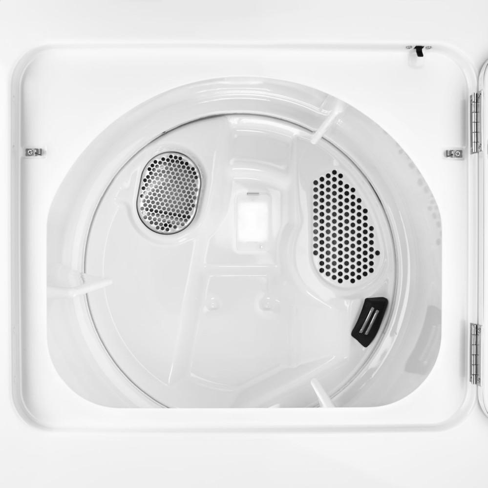 Inside Of A Dryer ~ Maytag medc bw inch electric dryer with cu ft
