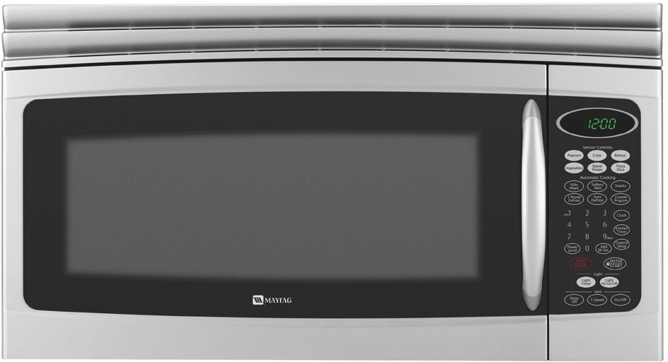 Maytag Mmv5207bas 2 0 Cu Ft Over The Range Microwave
