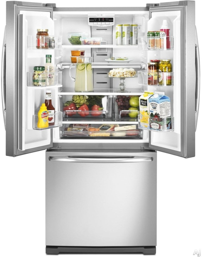 Maytag Mfw2055yem 19 6 Cu Ft French Door Refrigerator