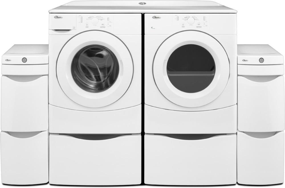 Whirlpool Wgd9050xw 27 Inch Gas Dryer With 6 7 Cu Ft