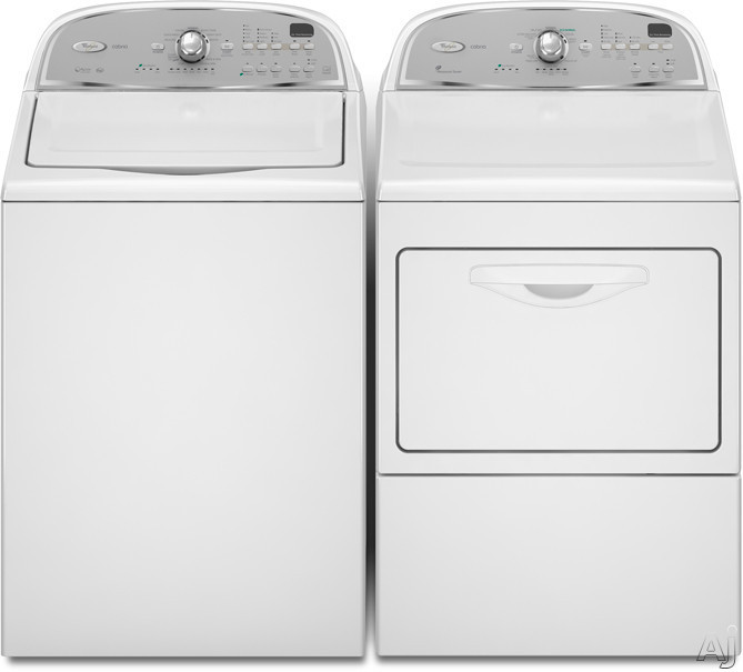 Whirlpool Wed5600xw 27 Inch Electric Dryer With 7 4 Cu Ft