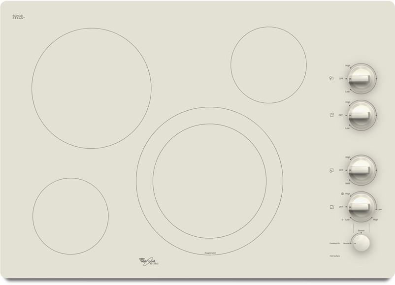 Whirlpool G7ce3034x 30 Inch Smoothtop Electric Cooktop