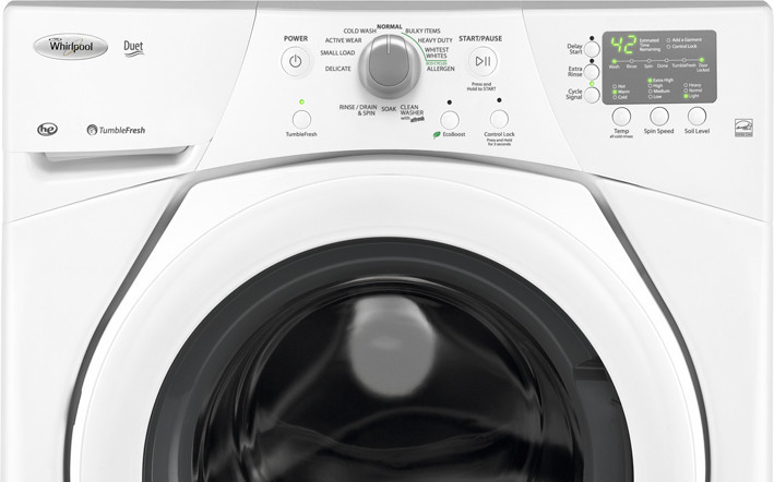 Whirlpool Wfw9151yw 27 Inch Front Load Washer With 3 5 Cu