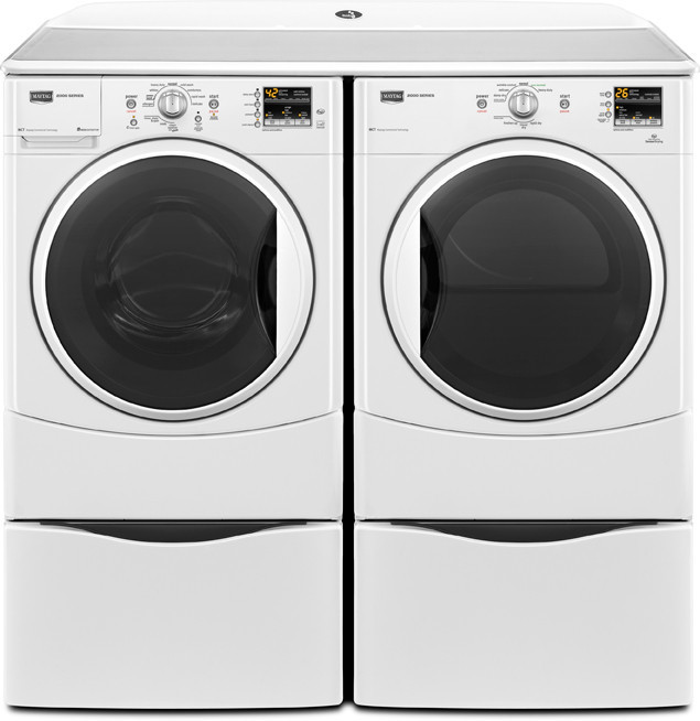 Maytag Mhwe201yw 27 Inch Front Load Washer With 3 5 Cu Ft