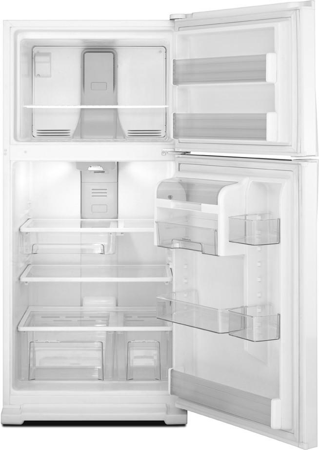 Whirlpool Wrt311sfyw 21 1 Cu Ft Top Freezer Refrigerator