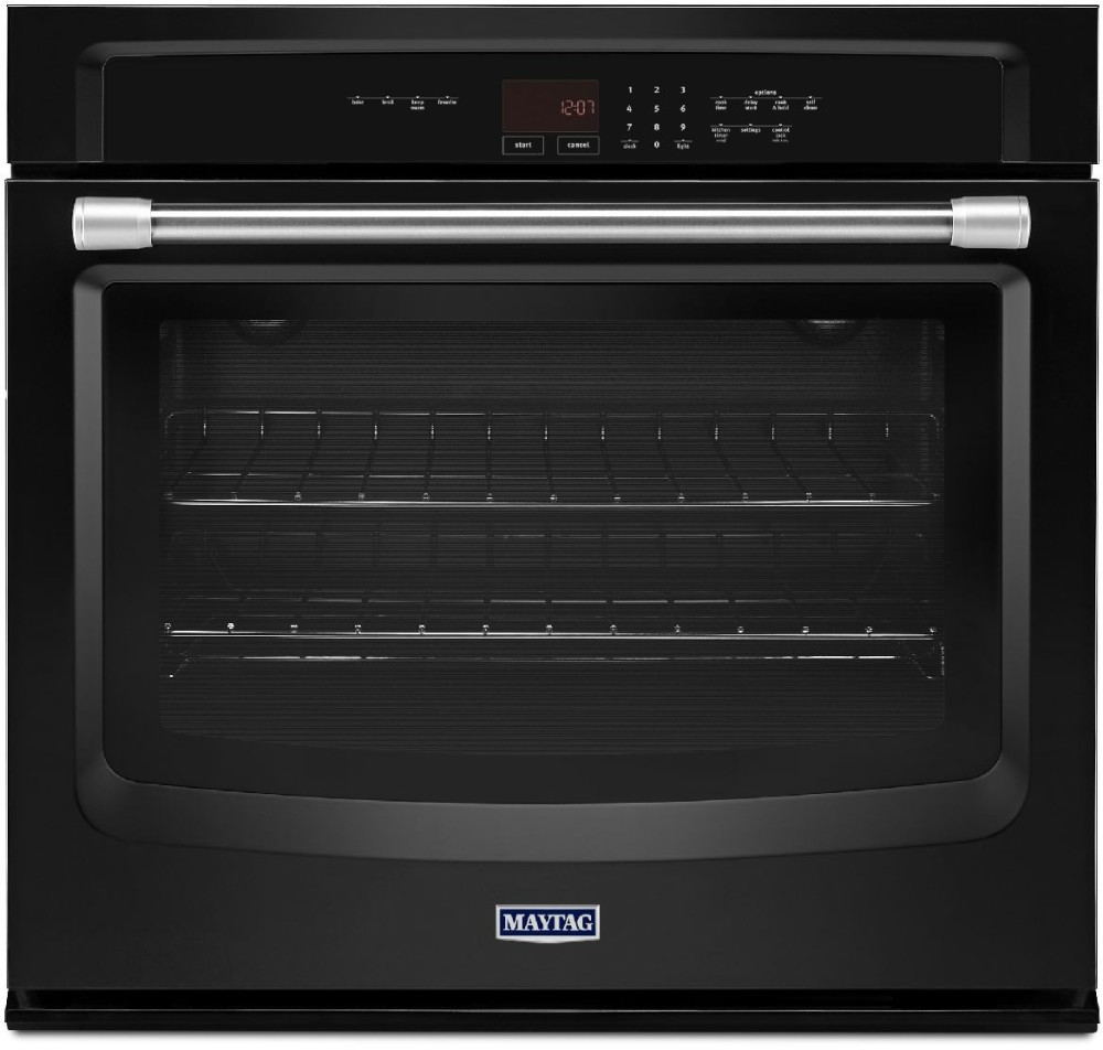 Maytag Mew7527de 27 Inch Single Thermal Electric Wall Oven