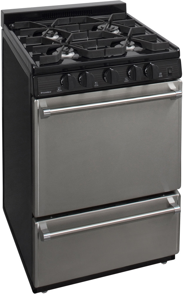 Premier P24s310bp 24 Inch Commercial Style Gas Range With