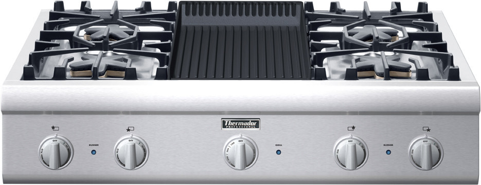 Thermador Pcg364el 36 Inch Gas Cooktop With Star Burners