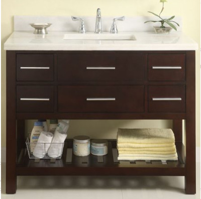 Empire Industries Pr42dc 42 Inch Contemporary Vanity With