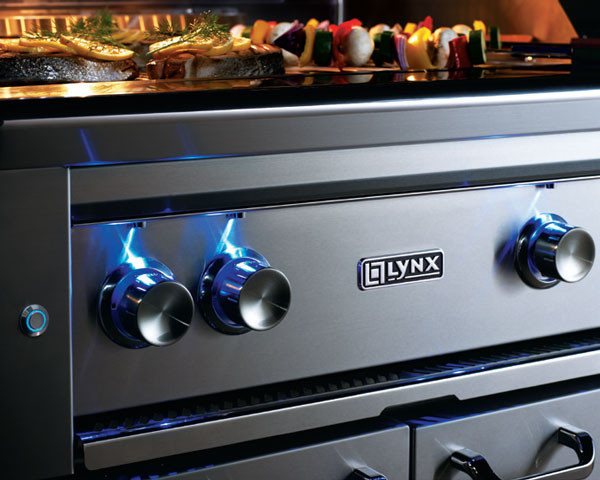 Lynx L42psr2ng 42 Inch Built In Gas Grill With 1200 Sq In