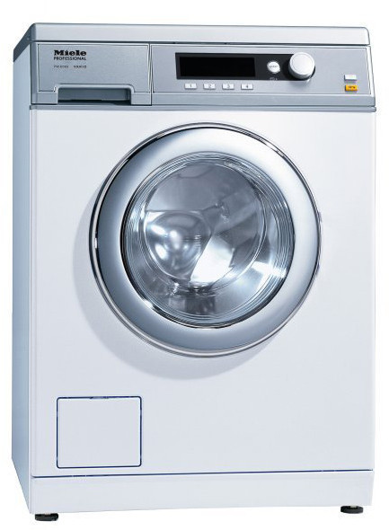 Miele Pw6068wh 24 Inch Commercial Front Load Washer With