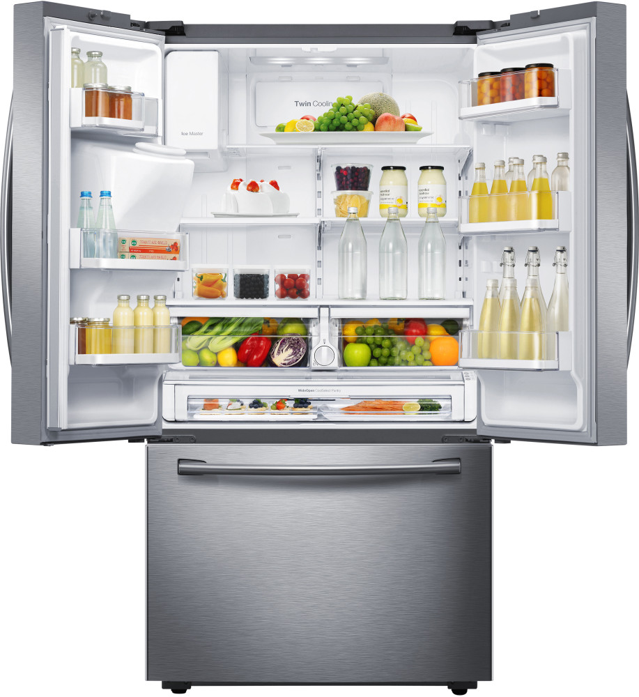 samsung rf23hcedb 36 inch french door refrigerator with 22. Black Bedroom Furniture Sets. Home Design Ideas