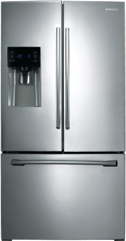 Samsung Rf263beaesr 36 Inch French Door Refrigerator With