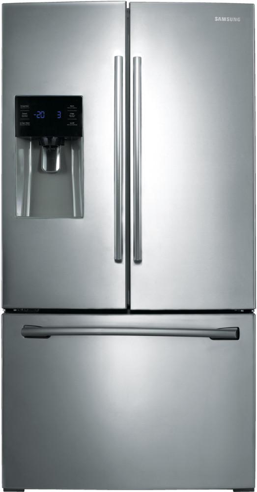 Samsung Rf263beaesr 36 Inch French Door Refrigerator With