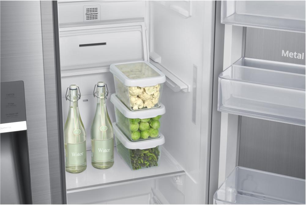 Samsung Rh22h9010sr 36 Inch Counter Depth Side By Side Refrigerator