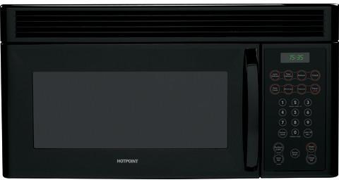 Hotpoint Rvm1535dmbb 1 5 Cu Ft Over The Range Microwave