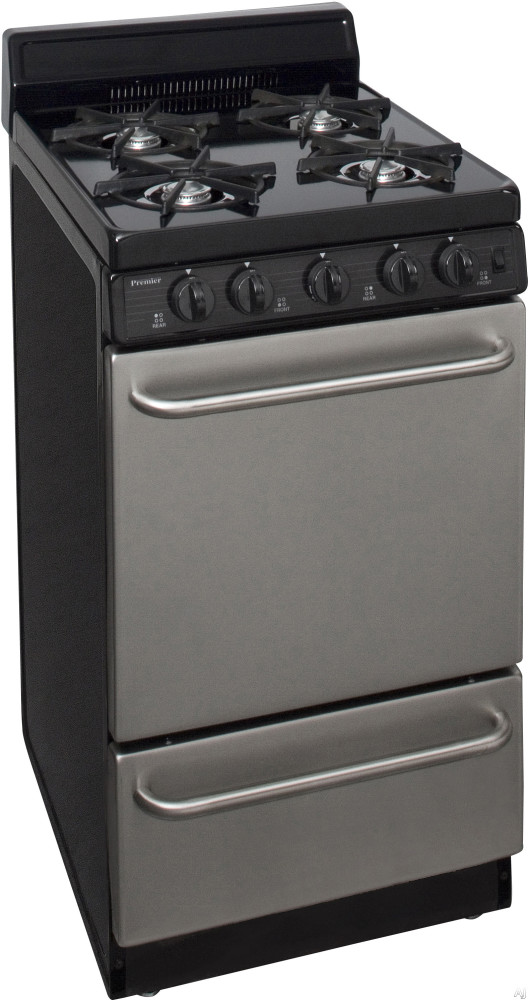 Premier Sak600bp 20 Inch Freestanding Gas Range With 4