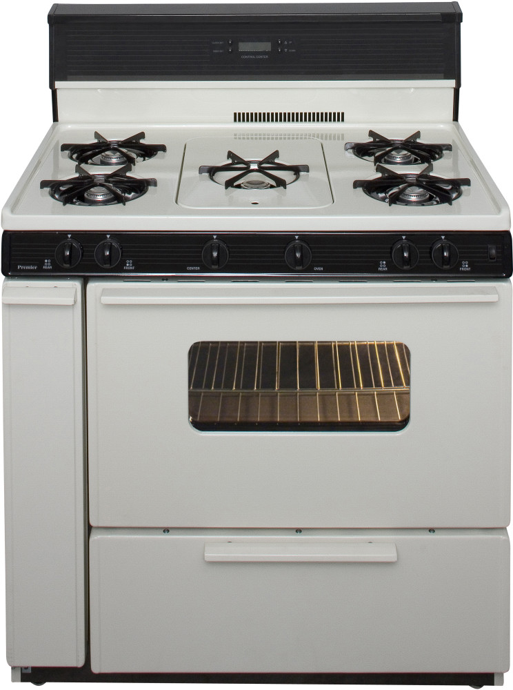 how to clean propane range oven