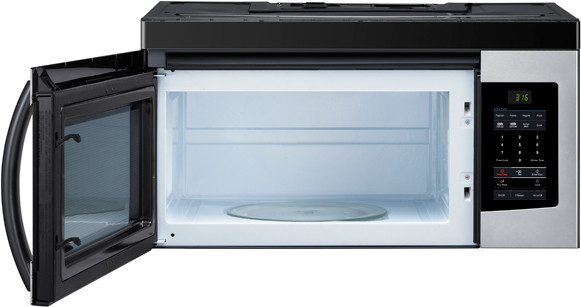 Samsung Smh1611s 1 6 Cu Ft Over The Range Microwave Oven