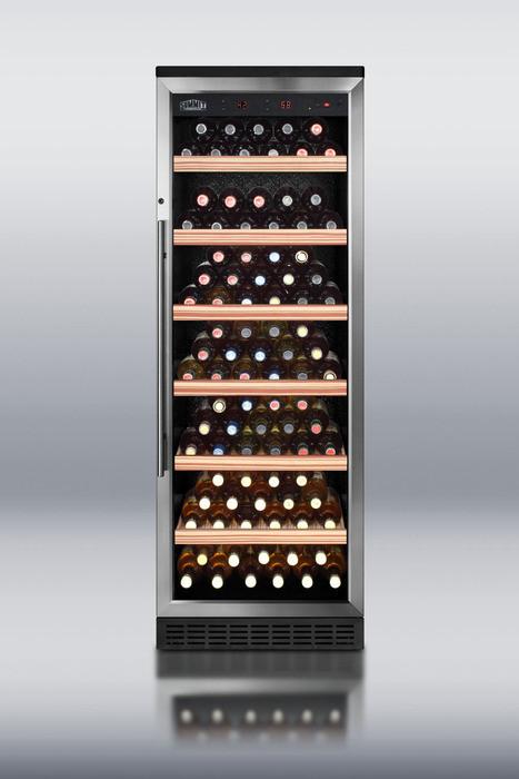 Summit Swc1545 23 Inch Dual Zone Wine Cellar With 80