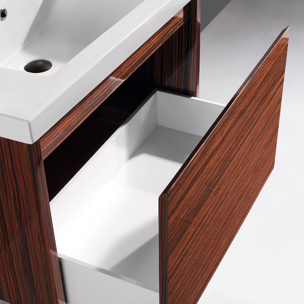 Drawer soft closing hardware white ceramic sink countertop and - Vigo Industries Vg09035109k1 32 Inch Espresso Petit Modern