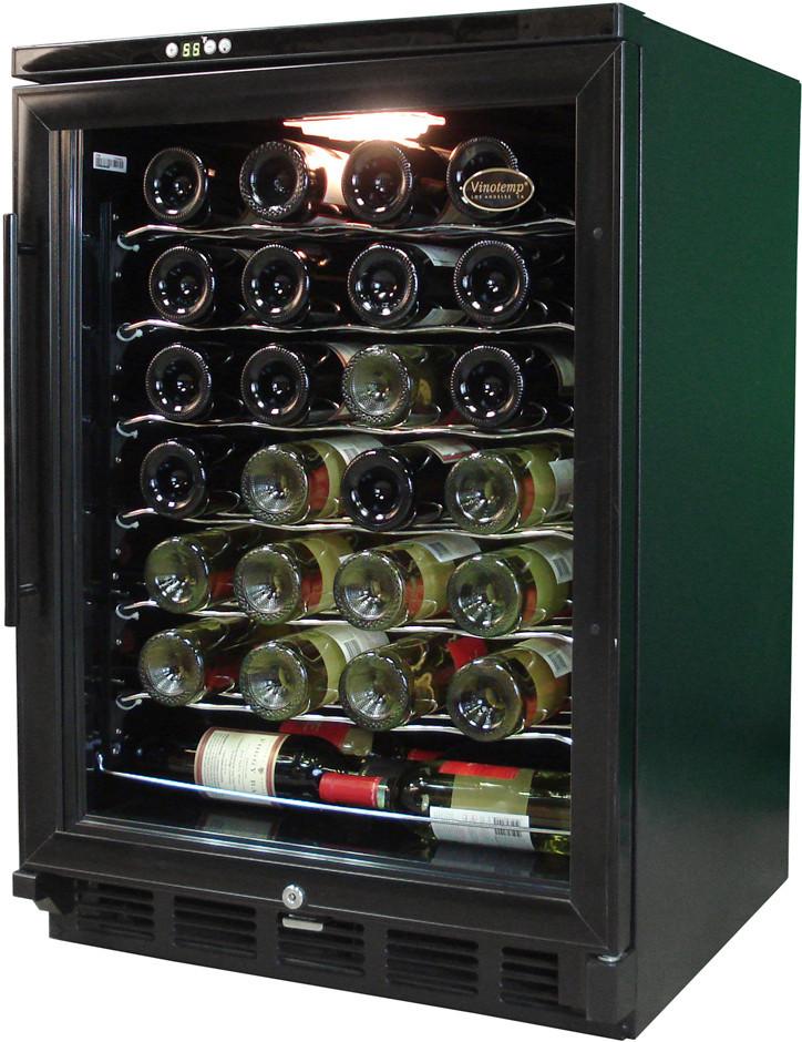 Vinotemp Vtwc58gnvb10 24 Inch Undercounter Wine Cooler