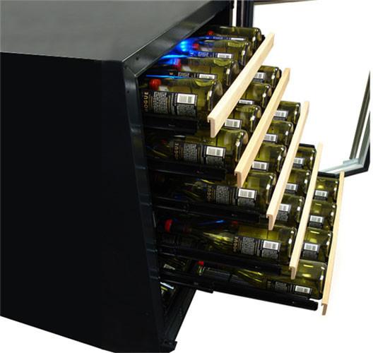 Vinotemp Vt45sb10 Dual Zone Wine Cooler With 45 Bottle