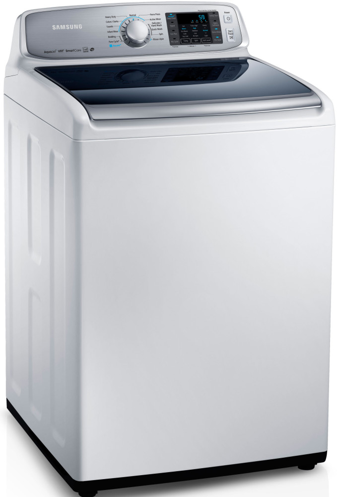 Samsung Wa50f9a6dsw 27 Inch Top Load Washer With 5 0 Cu