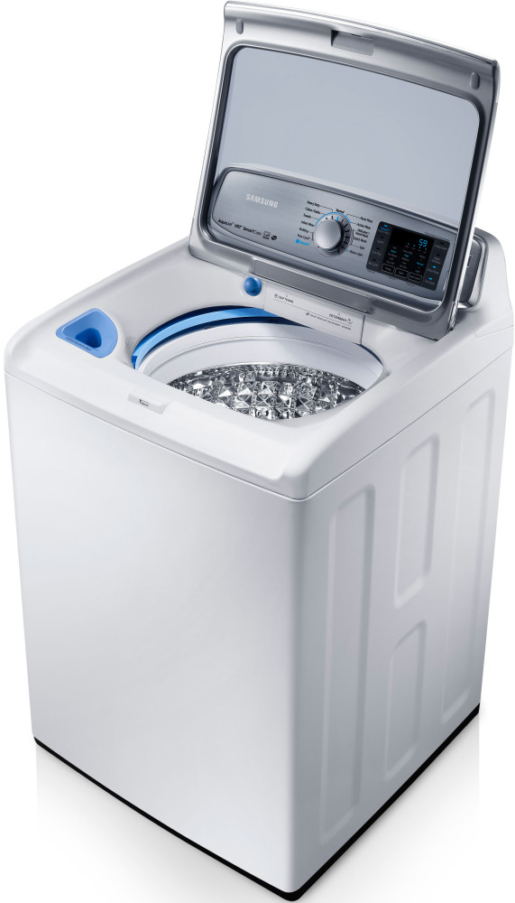 Samsung wa50f9a6dsw 27 inch top load washer with 5 0 cu for Samsung front load washer motor