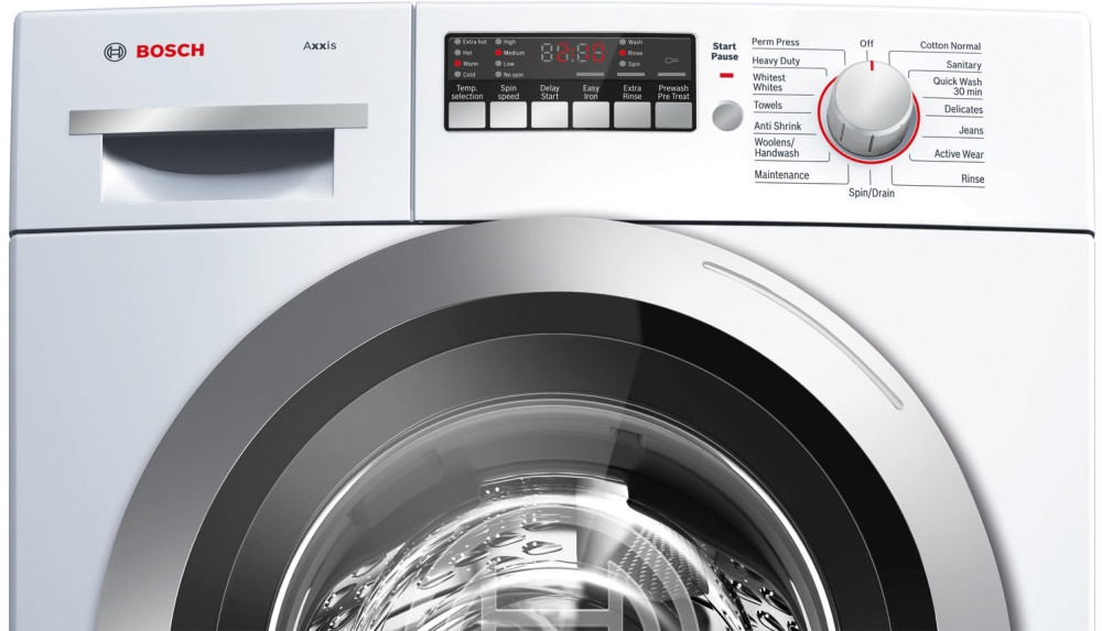 Bosch Wap24201uc 24 Inch 2 2 Cu Ft Front Load Washer