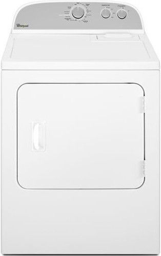 whirlpool wed4800bq 29 inch electric dryer with 7