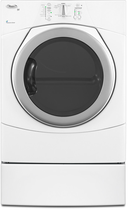 Whirlpool Wed9150ww 27 Inch Electric Dryer With 6 7 Cu Ft