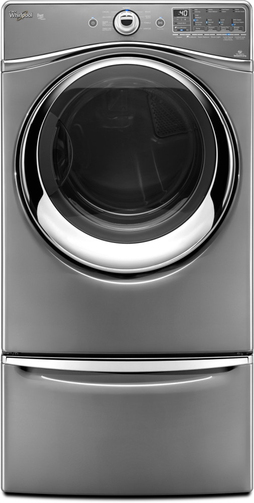 Whirlpool Wed94heac 7 4 Cu Ft Electric Dryer With 10