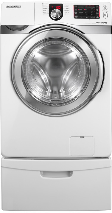 Samsung Wf419aaw 27 Inch Front Load Steam Washer With 4 3