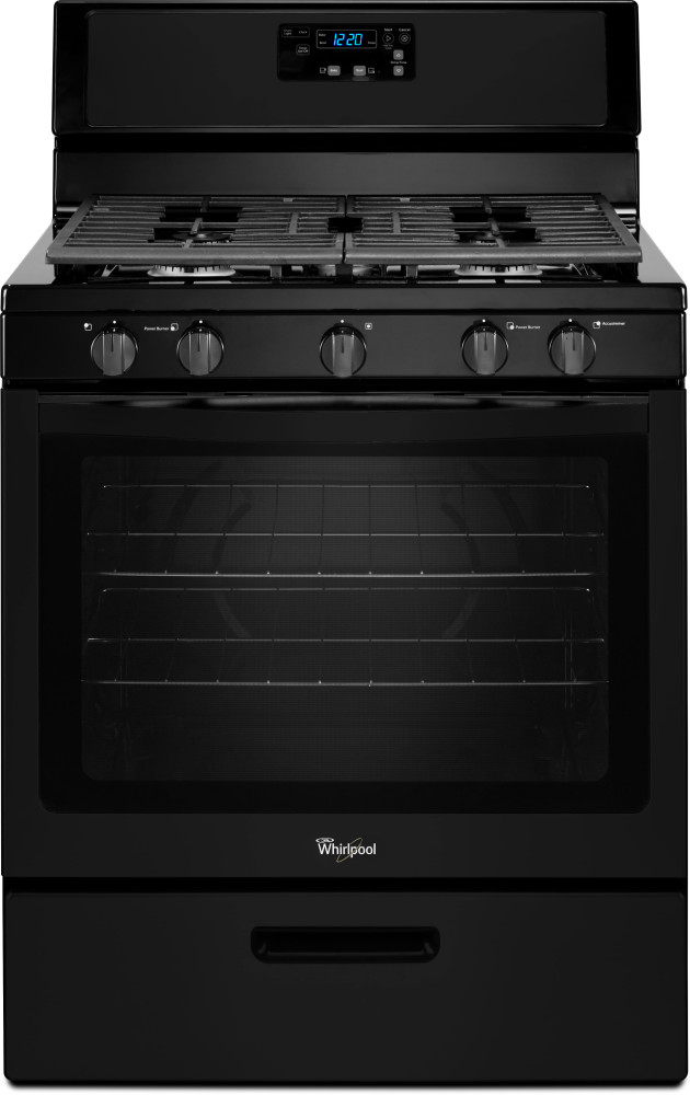 Whirlpool Wfg505m0b 30 Inch Freestanding Gas Range With 5