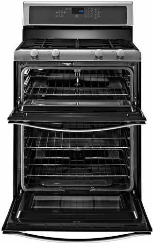Whirlpool Wgg555s0bs 30 Inch Freestanding Gas Double Oven