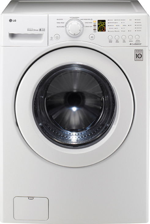 Lg Wm2140cw 27 Inch Front Load Washer With 3 5 Cu Ft