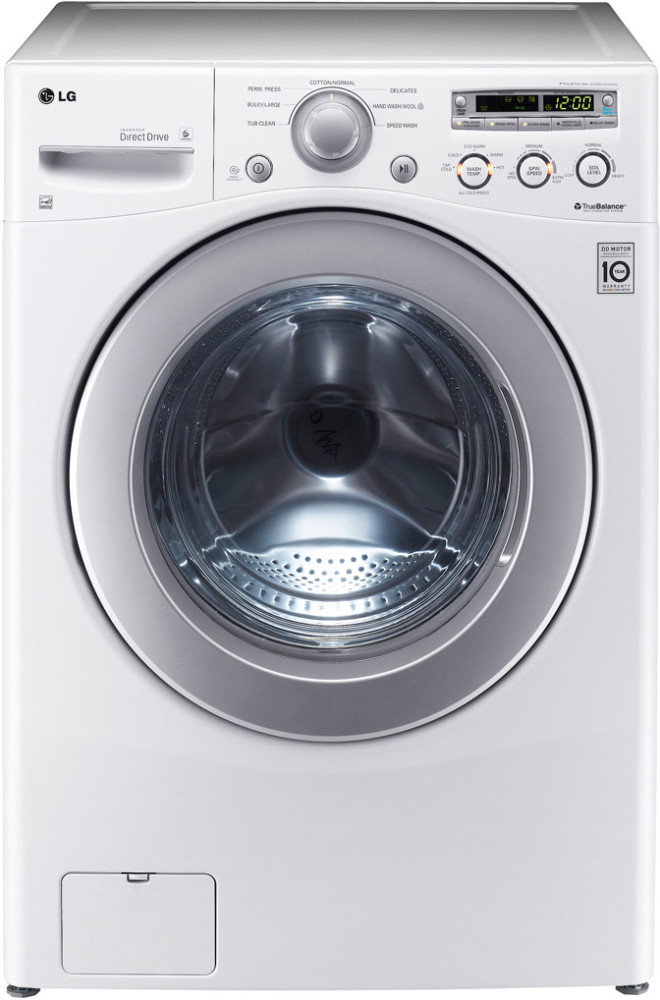 Lg Wm2250cw 27 Inch Front Load Washer With 3 5 Cu Ft