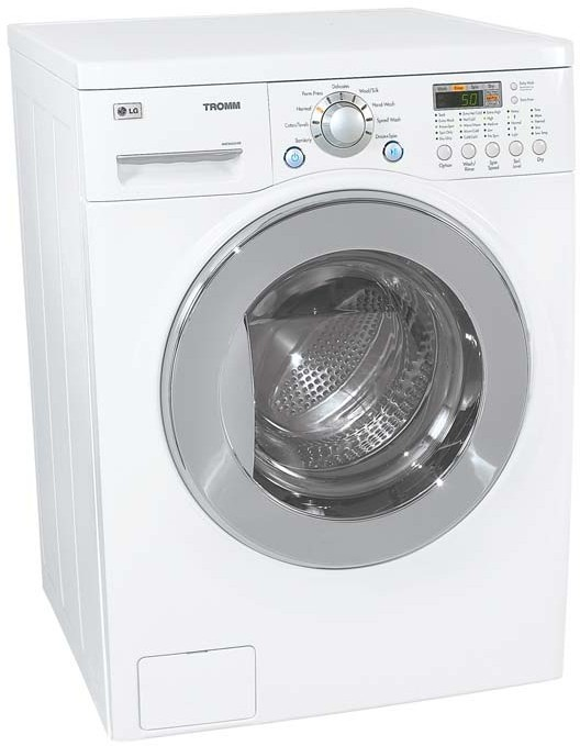 Lg Wm3431h 24 Inch Washer Dryer Combo With 2 44 Cu Ft