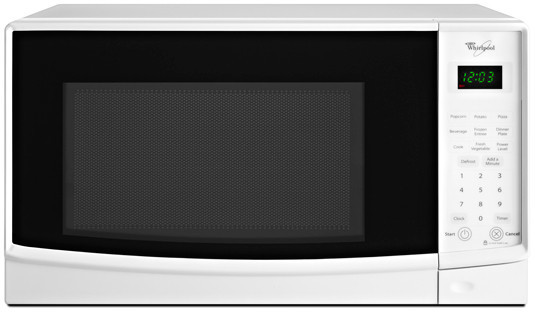 Countertop Microwave With Turntable : Whirlpool WMC10007A 0.7 cu. ft. Countertop Microwave Oven with 700 ...
